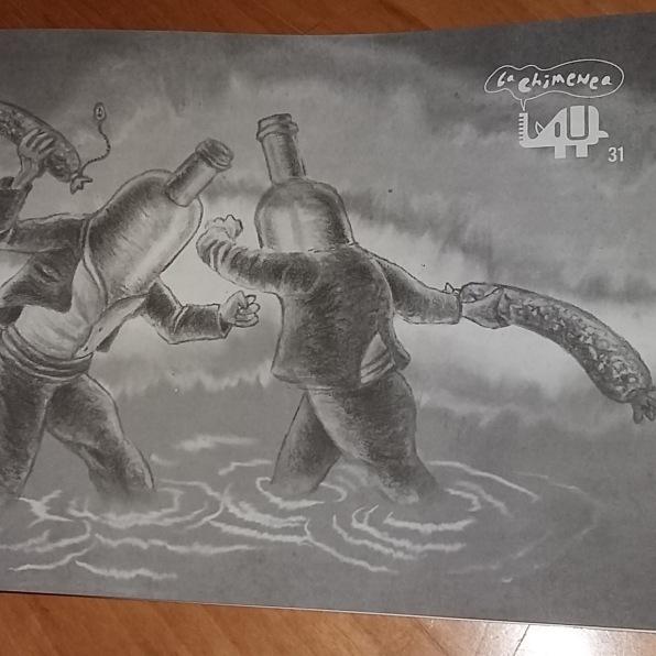 "Portada Fanzine ""La Chimenea"" Nº31"