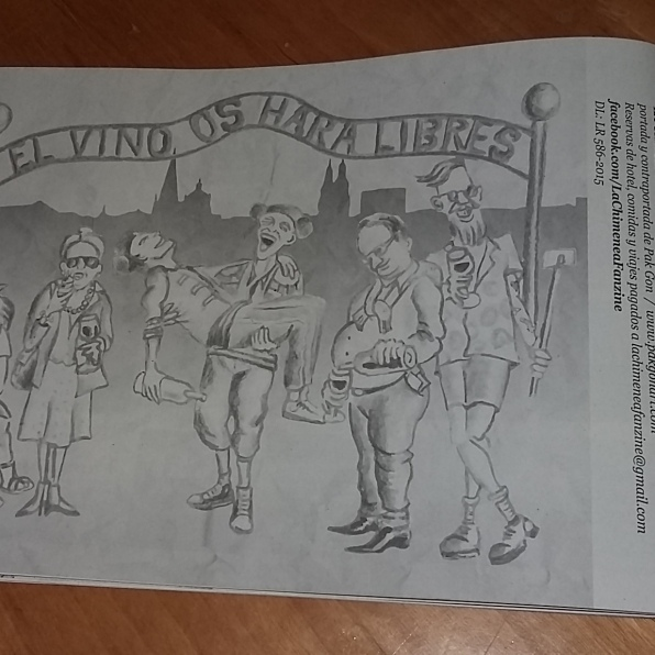 """Contraportada Fanzine """"La Chimenea"""" Nº31"""