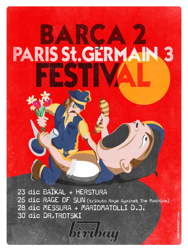 Barça 2 Paris St.Germain 3 Festival