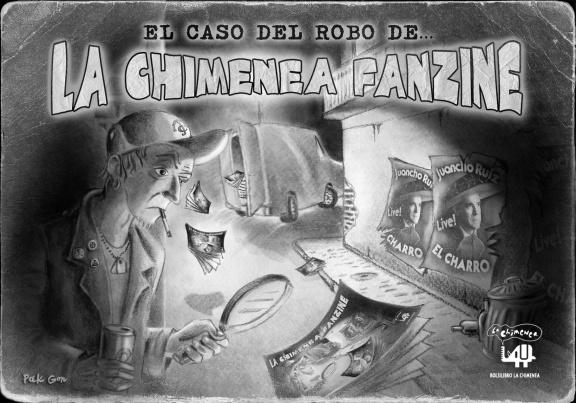 """Portada del Fanzine """"La Chimenea"""" nº43"""