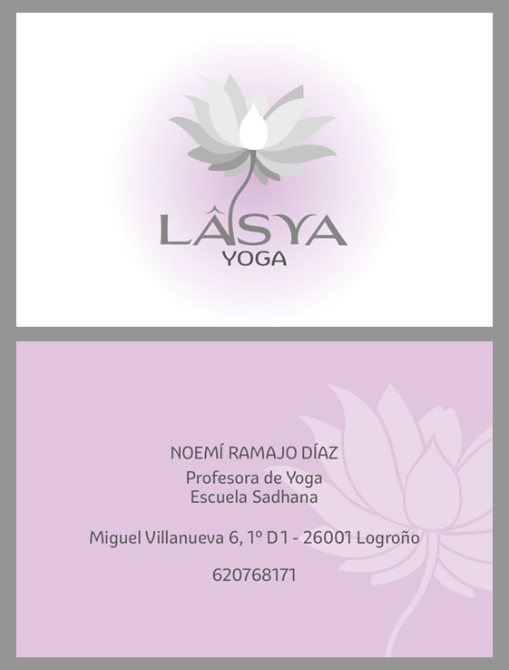 tarjeta Lâsya Yoga
