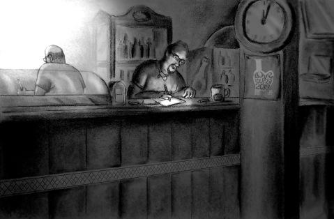 ilustración para Fanzine La Chimenea
